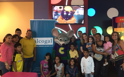 Evento para Becados de Alcogal