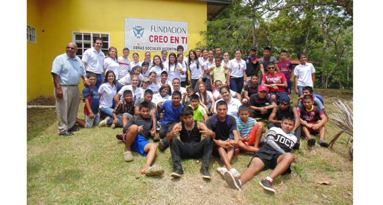 Visit to the shelter of the Creo en Ti foundation