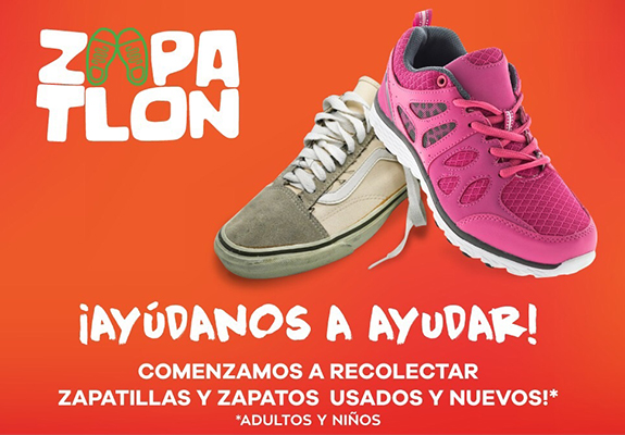 Alcogal joins the Zapatlón campaign