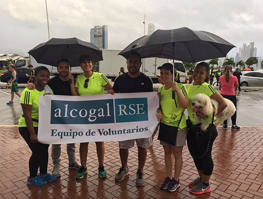 Alcogal was present in the ADIDAS Race Day – Ruta de las Plazas
