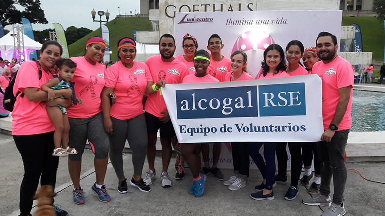 Alcogal supports the Breast Cancer Awareness Campaign