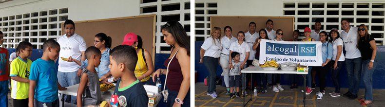 """Alcogal participates in the program """"Tutor del Barrio"""""""