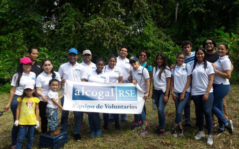 Alcogal supports reforestation program