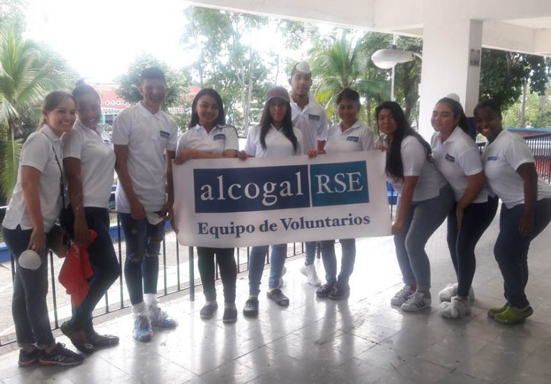 "Alcogal supports the program ""Mi Escuela Primero"""