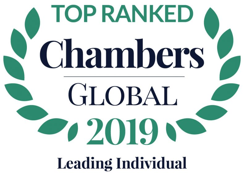 Alcogal lawyers are recognized in the rankings of Leading Individuals across the world