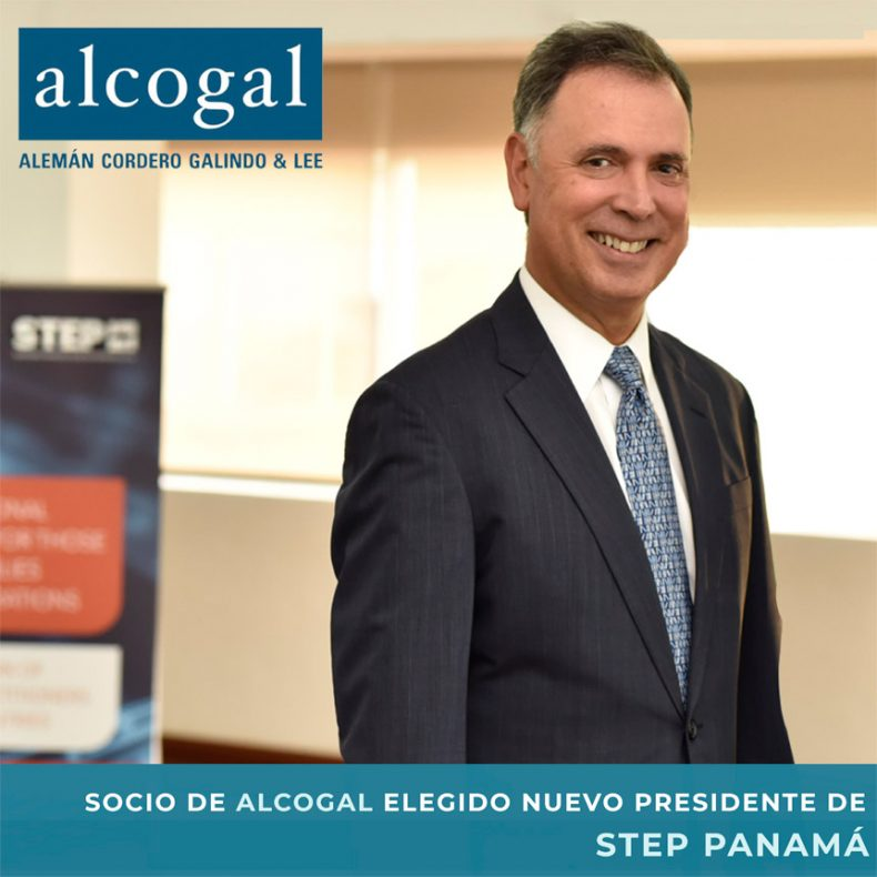 Alcogal partner elected new President of STEP Panama
