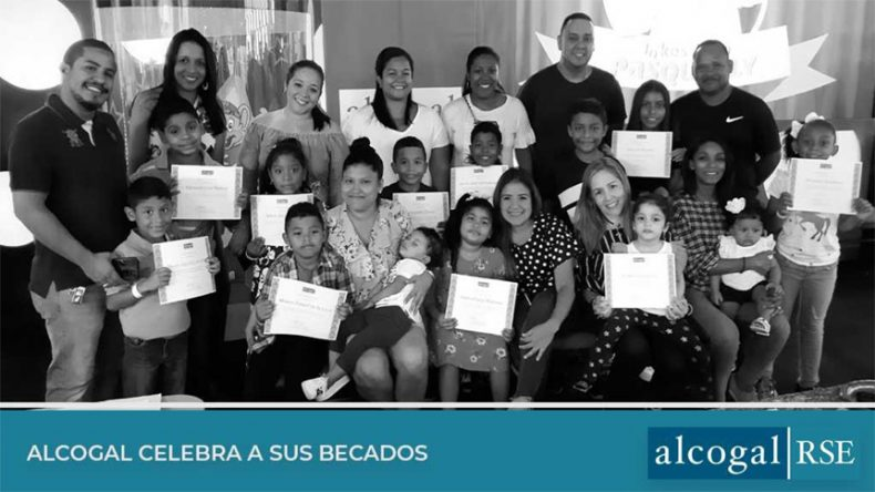 Alcogal celebrates its scholars