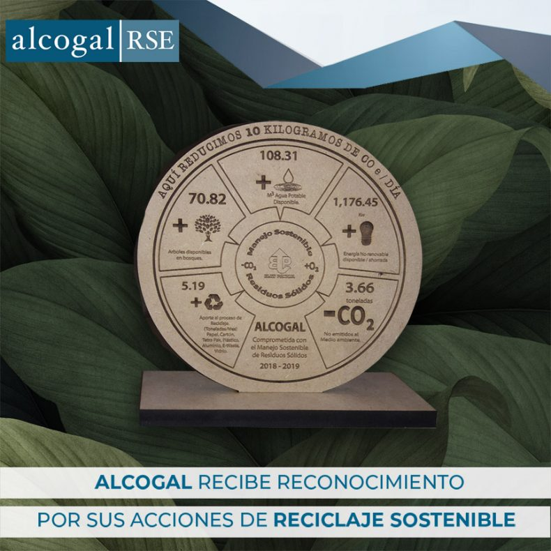 Alcogal reaffirms its environmental commitment