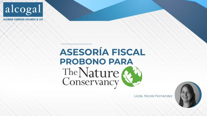 Pro Bono Tax Advice for The Nature Conservancy