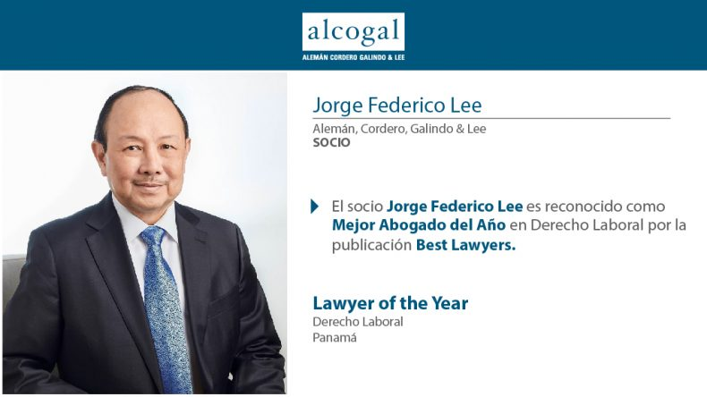 Partner Jorge Federico Lee is recognized as Best Lawyer of the Year in Labor Law