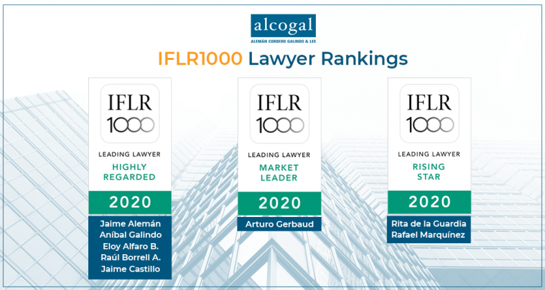 IFLR1000 recognizes eight lawyers from Alcogal