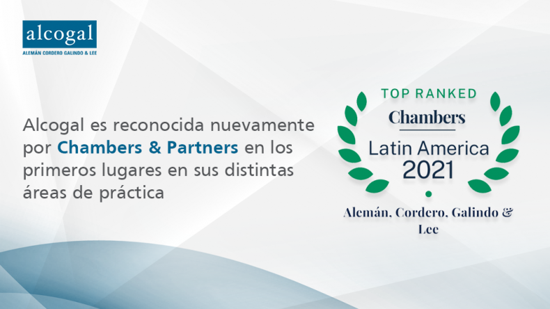 Alcogal receives top rankings in Chambers Latin America 2021