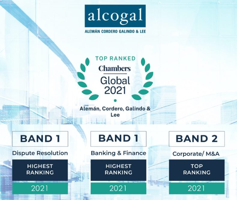 Alcogal receives top rankings in Chambers Global 2021
