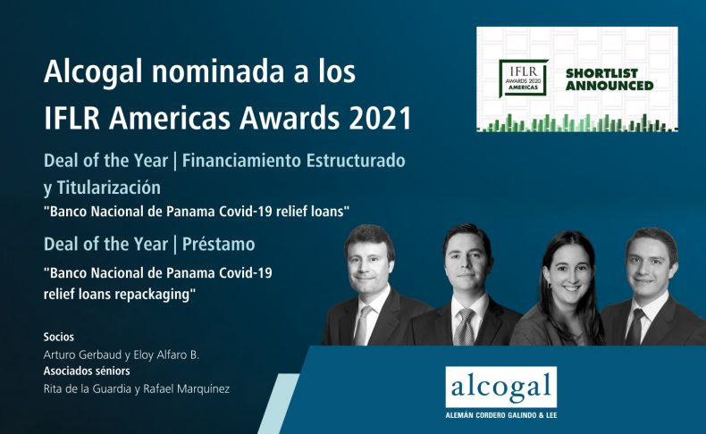 Alcogal es nominada a los IFLR Americas Awards 2021