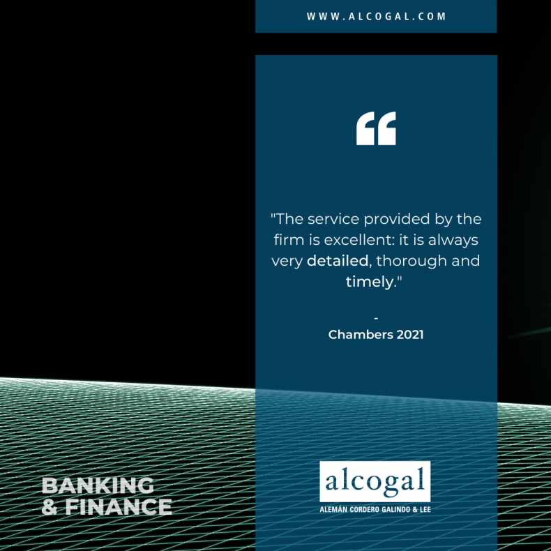 Alcogal´s banking and finance team