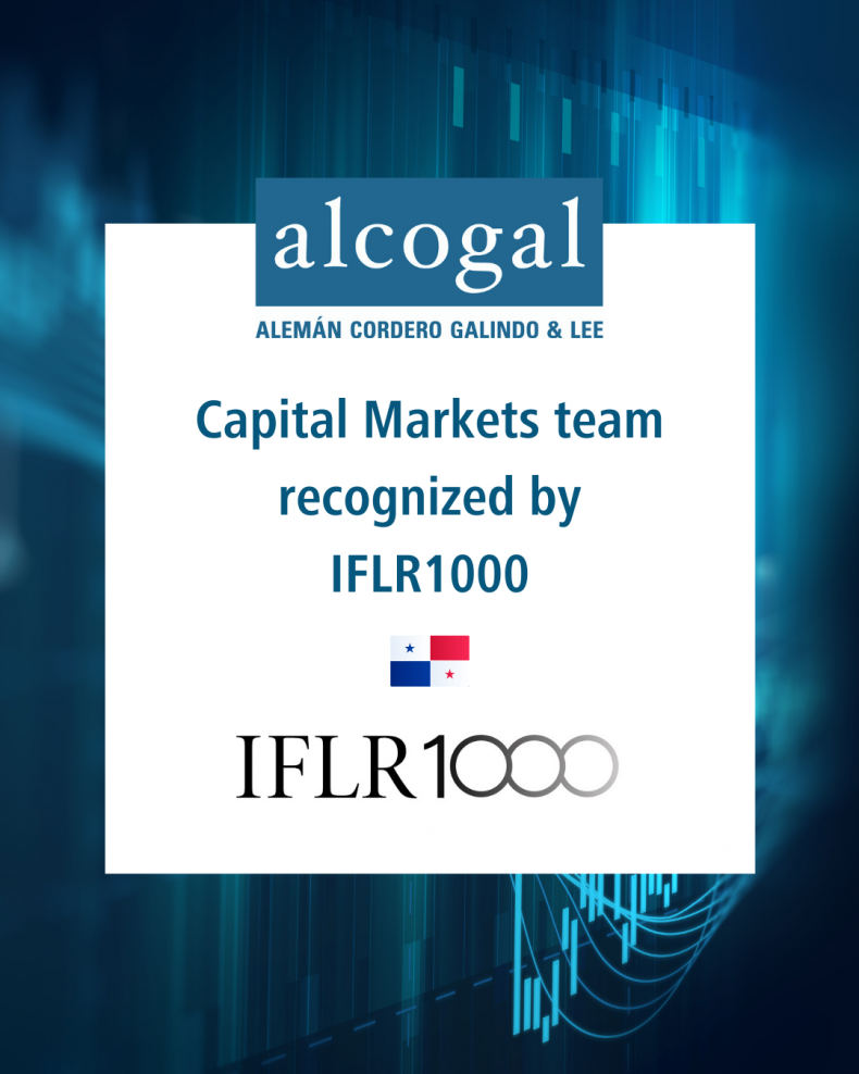 Alcogal´s capital markets team recognized by IFLR1000