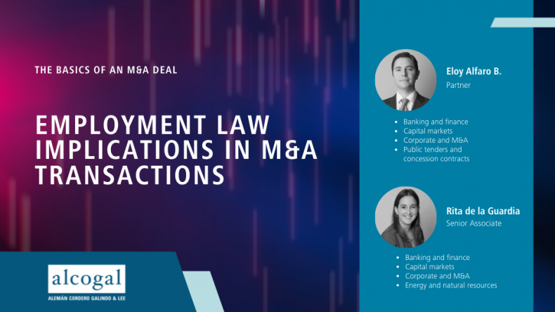 Employment law implications in M&A transactions
